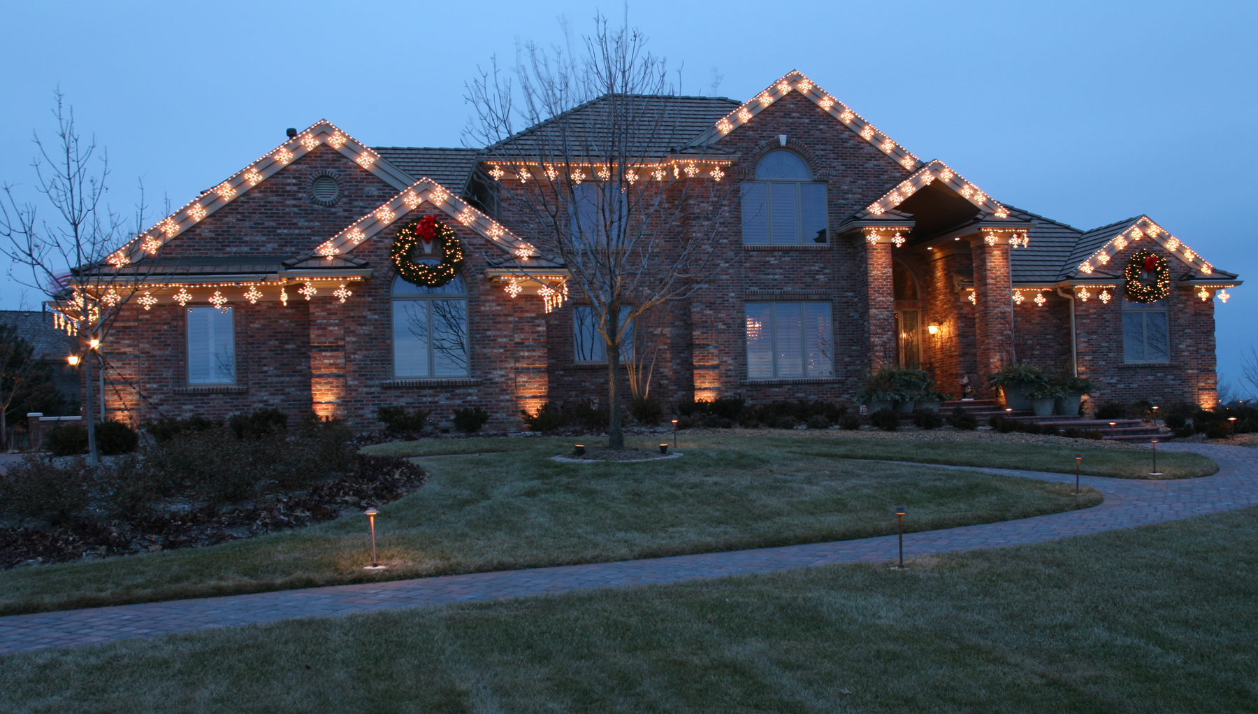 Christmas Light Displays In St Louis.Dunn S Lawn Service St Louis Mo Christmas Light Displays